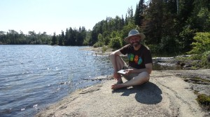 Chilling at Moskey Basin