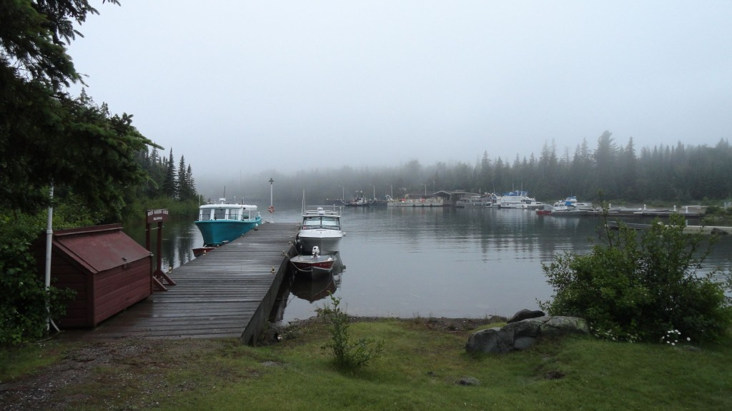 Fog on Rock Harbor